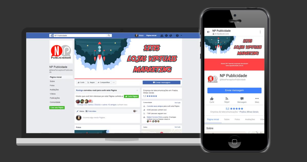 Como criar uma capa de Facebook que funcione bem em computadores e celulares
